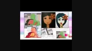 تمسخر سرقت هنری تهمینه میلانی در شبکه سه