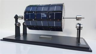 موتور خورشیدی معلق با توانایی تولید انرژی نامحدود