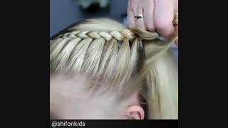 بافت مو برای خانم کوچولوها