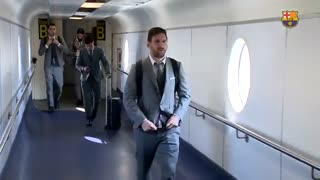 سفر بارسلونا به منچستر برای دیدار با شیاطین سرخ