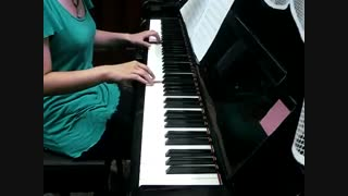 پیانو کاور آهنگ Green peas پسرای ss501 ^^