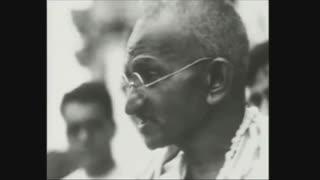 گاندی; جنبش بی خشونت در هند