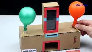 خرید فیلم آموزش ساخت دستگاه باد کننده بادکنک با وسایل ساده