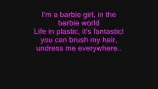 Im a barbie girl lyrics