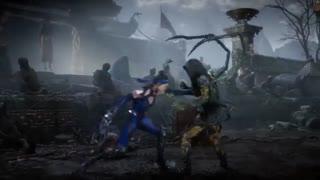 تریلر گیمپلی شخصیت Kitana در Mortal Kombat 11