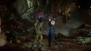 گیم پلی Kitana در Mortal Kombat 11
