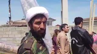 کمک های بنیاد مستضعفان به روستاییان آسیب دیده از سیل در آق قلا در استان گلستان