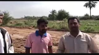 به کمک شرکت نفت و جوانان، روستای مظفریه زیر آب نرفت