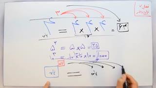ریاضی 7 - فصل 7 - بخش 1 : معرفی توان و تفاوت آن با ضرب معمولی