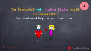 50 Verben mit Akkusativ & Dativ | Learn German Grammar | 50 verbs with accusative & dative | A1 | A2