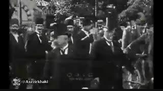 فیلم دیدنی از سفر مظفرالدین شاه
