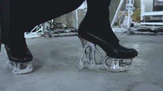 پرینتر سه بعدی و پاشنه ی بی شکل کفش!