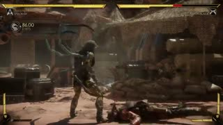 Mortal Kombat 11 D'vorah Gameplay Part 1 [PS4, Xbox One, PC, Switch]