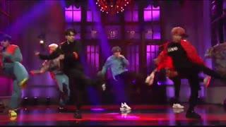 اجرای آهنگ جذاب MIC Drop از BTS در برنامه SNL * جدید