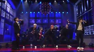 اجرای آهنگ بسیار زیبا Boy With Luv از BTS در برنامه SNL * جدید و با کیفیت بالا