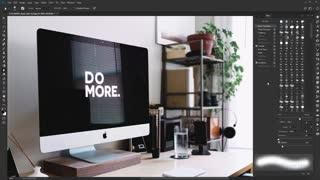 آموزش فتوشاپ ابزار برش فتوشاپ blur-tool