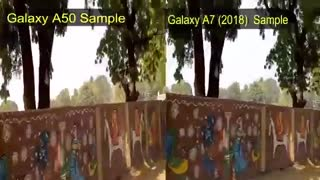 Samsung Galaxy A50 vs Galaxy A7 Full Camera Test | Display, Design Which is Best