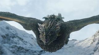 اولین اژدها سواری جان اسنو در بازی تاج و تخت (Game of Thrones)