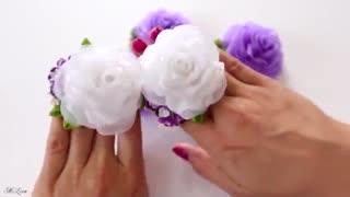 خرید فیلم آموزش گل دوزی گل رز