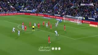 گل اول لگانس به رئال مادرید توسط  سیلوا