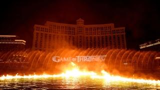 نمایش اختصاصی برای فصل 8 بازی تاج و تخت در هتل بلاژیو Game of Thrones