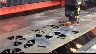 ساخت تایل مشبک فلزی