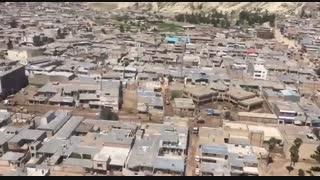 جدیدترین تصاویر هوایی از شهر سیلزده پلدختر