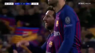 خلاصه دیدار بارسلونا 3_0 منچستریونایتد ( لیگ قهرمانان اروپا)
