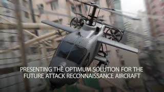 تولید هلیکوپتر نظامی هوشمند با پره های تاشو