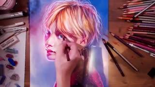 آموزش کشیدن نقاشی وی *-*