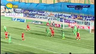 خلاصه دیدار ذوب آهن 0_0 پرسپولیس؛ (هفته 26 لیگ برتر ایران)