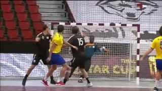 دیدار تیم های السد و الغرافه در فینال  مسابقات هندبال جام ولیعهد قطر