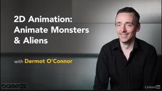 انیمیشن سازی دو بعدی : هیولاها و فضایی ها