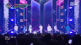 کامبک استیج BTS با آهنگ Make It Right