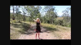 How-To Tutorial Rythmic Gymnastics Ribbons