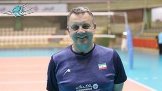 صحبتهای کولاکوویچ درباره وضعیت تیم ملی والیبال/ ویدیو
