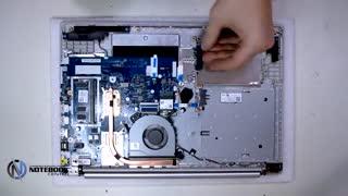 باز کردن قطعات لنوو ideapad 320