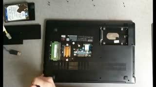 تمیز کردن قطعات لپ تاپ لنوو ideapad 310