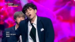 اجرای آهنگ Dionysus از BTS در Music Bank