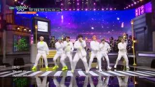 اجرای آهنگ Boy With Luv از BTS در Music Bank