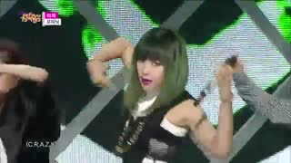 4minute-crazy stage