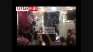 استقبال گرم فردوسیپور از هوادارانش در مجتمع کوروش
