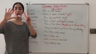 صفت در انگلیسی بخش 1 | 10 صفت پرکاربرد زبان انگلیسی - فرازبان آموزش زبان انگلیسی