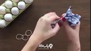 به سادگی تخم مرغ رنگی بسازید