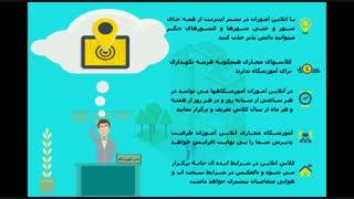 برگزاری دوره های آموزش آنلاین