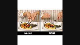آداب غذا خوردن - قسمت دوم