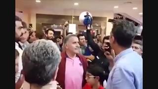 واکنش عادل فردوسی پور به شعار علیه علی فروغی