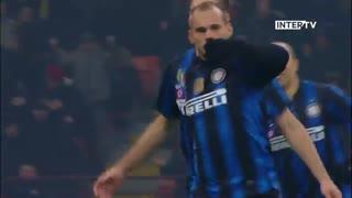 5 گل برتر اینتر میلان به آ اس رم
