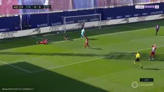 خلاصه دیدار ایبار 0_1 اتلتیکو مادرید (هفته 33 لا لیگا اسپانیا)