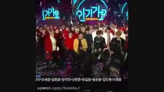 دنس BTS و EXO با PSY